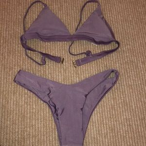 Purple bathing suit - never been worn